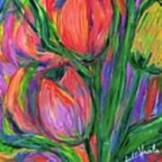 Tulip Edge Art Print
