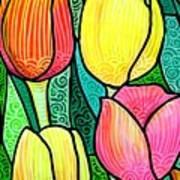 Tulip Expo Art Print