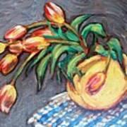 Tulip Fiesta Art Print by Sheila Tajima