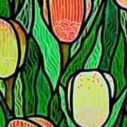 Tulip Joy 2 Art Print