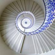 Tulip Staircase Art Print