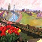 Tulip Town 21 Art Print