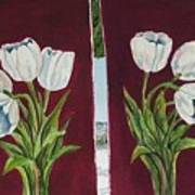 Tulips 11 And 12 Art Print