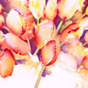 Tulips Are People Iv Art Print