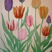 Tulips Print by Ben Kiger
