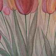 Tulips For Carol Art Print