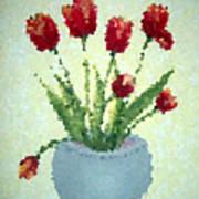 Tulips I  Art Print