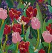 Tulips In The Capitol Art Print