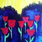 Tulips Of My Heart Art Print