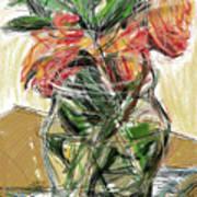 Tulips Art Print by Russell Pierce