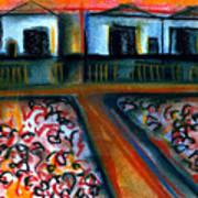 Tulla Factories 2 Art Print