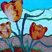 Tulpen 71 Art Print