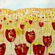 Tulpen 74 Art Print