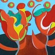 Tulpen 77 Art Print