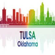 Tulsa Ok 1 Vertical Art Print