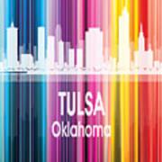 Tulsa Ok 2 Vertical Art Print