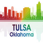 Tulsa Ok Art Print