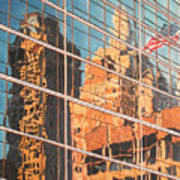 Tulsa Relections 2 Art Print by Kenny King