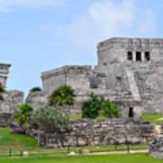 Tulum Mayan Ruins Art Print