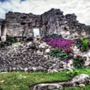 Tulum Temple Ruins No.2 Art Print