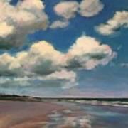 Tumbling Clouds Art Print
