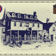 Tun Tavern - Birthplace Of The Marine Corps Art Print