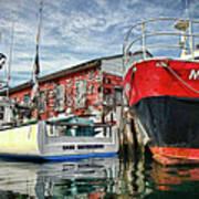 Tuna Fishing In Gloucester Art Print