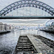 Tyne Bridge, Newcastle Art Print