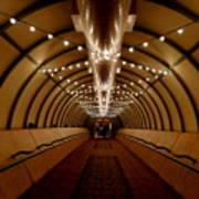 Tunnel Abstract Art Print