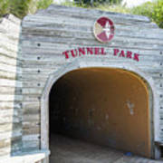 Tunnel Park, Holland Mi Art Print