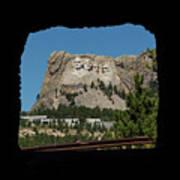Tunnel View Mt Rushmore 2 A Art Print