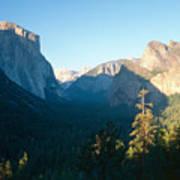 Tunnel View Yosemite Valley California Art Print