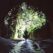 Tunnel Walk Art Print