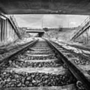 Tunnels And Tracks Art Print