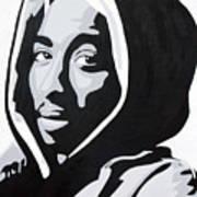 Tupac Art Print by Michael Ringwalt