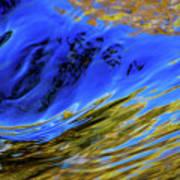 Turbulent Fall Reflections Art Print