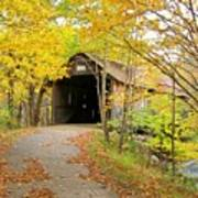 Turkey Jim's Covered Bridge Art Print
