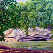Turkey Run Park Art Print