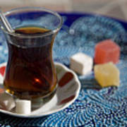 Turkish Tea Art Print