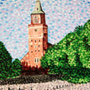 Turku Cathedral  Art Print