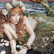 Turn Loose The Mermaid Art Print