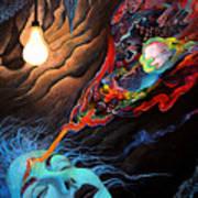 Turn The Light On Art Print by Steve Griffith