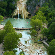 Turner Falls Grand View Two Art Print