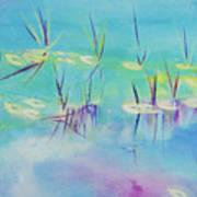 Turquoise Blue Art Print