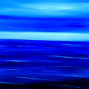 Turquoise Dawn Art Print