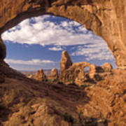 Turret Arch And North Window Art Print