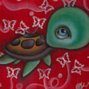 Turtle Art Print by  Abril Andrade Griffith