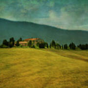 Tusacany Hills Art Print