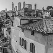 A Window To Tuscany Art Print