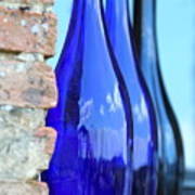 Tuscan Blue Reflections Art Print